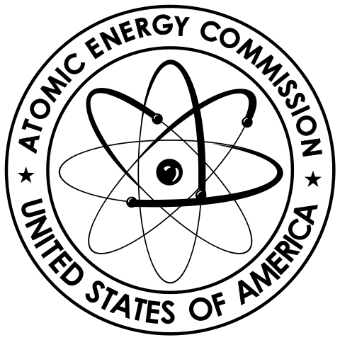 The Atomic Energy Commission logo
