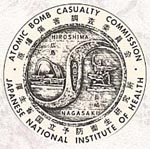 The logo of the Atomic Bomb Casualty Commission