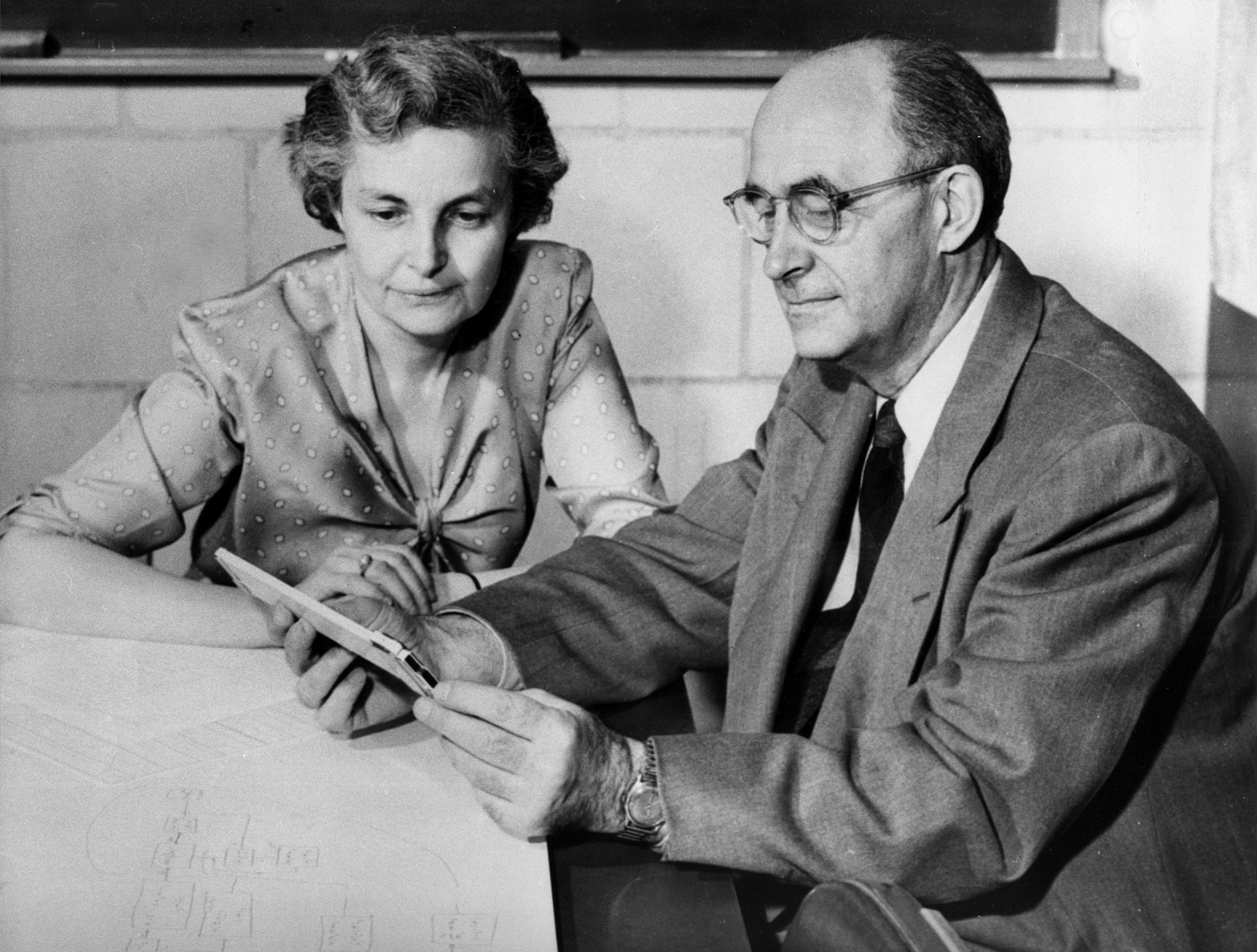 Laura and Enrico Fermi