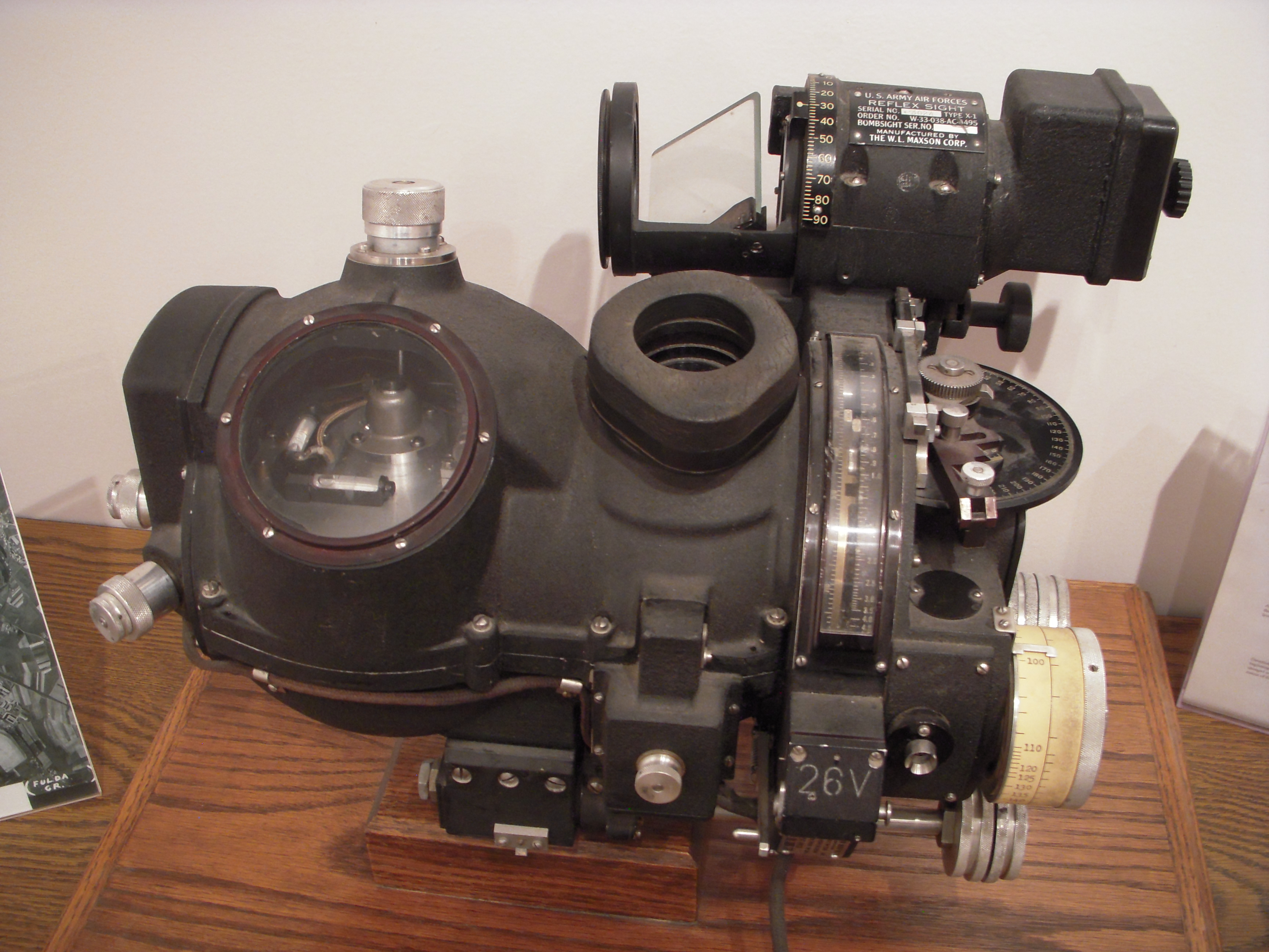 the norden bombsight Marilyn walton sent me some good links dealing with the famous norden  bombsight, which legend has it could drop a bomb into a pickle barrel.