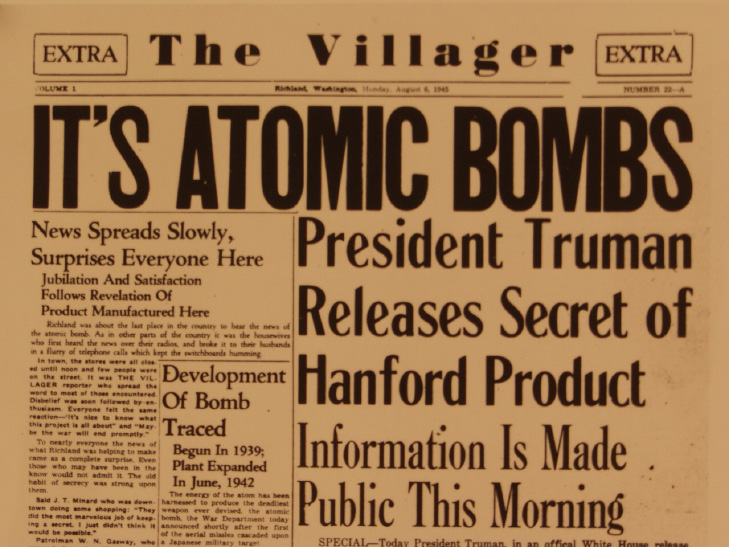 the manhattan project and the dropping of the a bomb Though responsibility for the decision to use the atomic bomb was the president's, he exercised it only after careful study of the recommendations of his senior advisers chief among these was the secretary of war, under whose broad supervision the manhattan project had been placed.