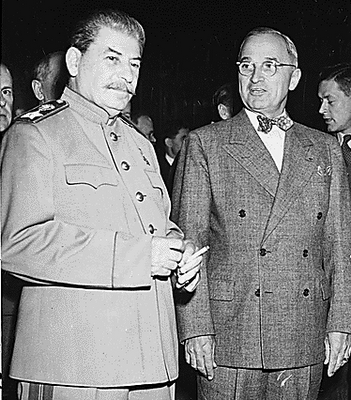 Stalin and Truman.