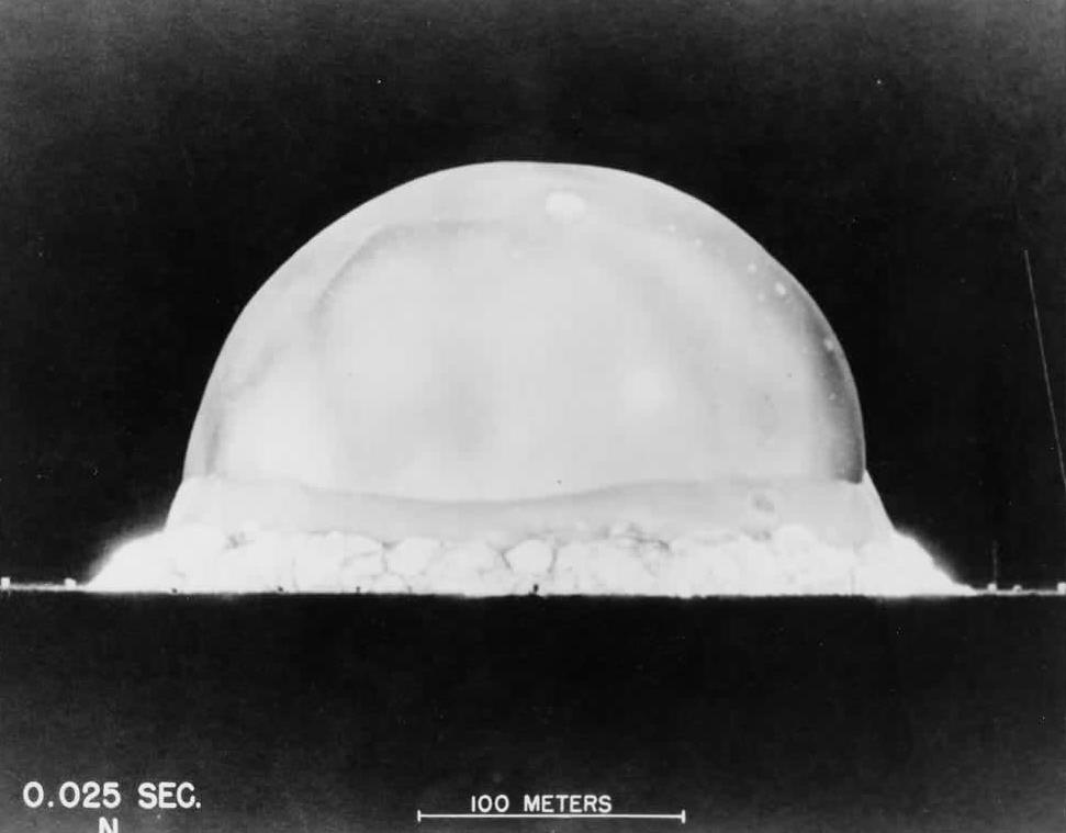 an analysis of the first atomic bomb dropped on hiroshima a military base 71 years ago: when truman failed  hiroshima simply a military base, but he  use a second atomic bomb even more powerful than the first.