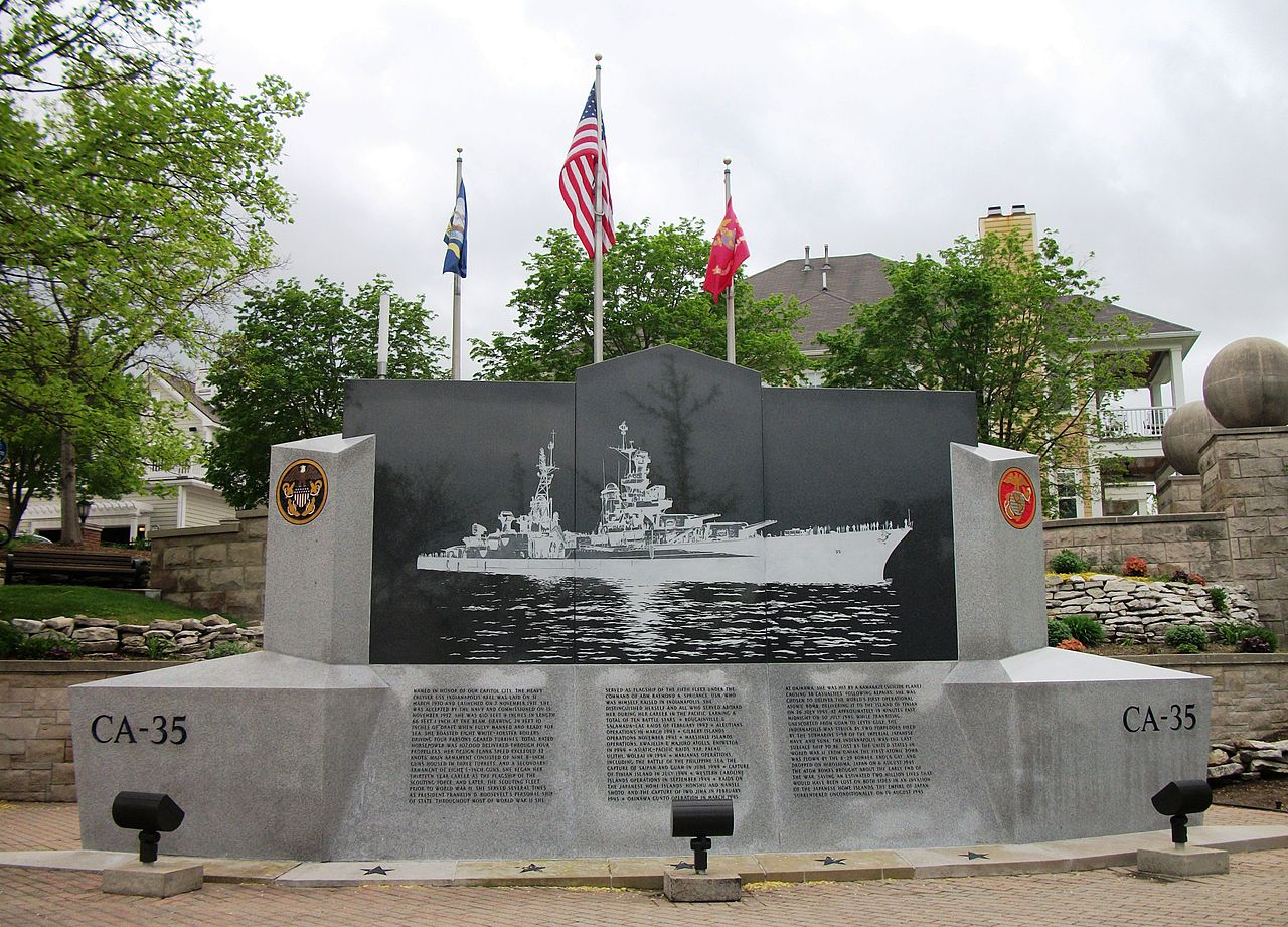 USS Indianapolis Memorial in Indianapolis, IN