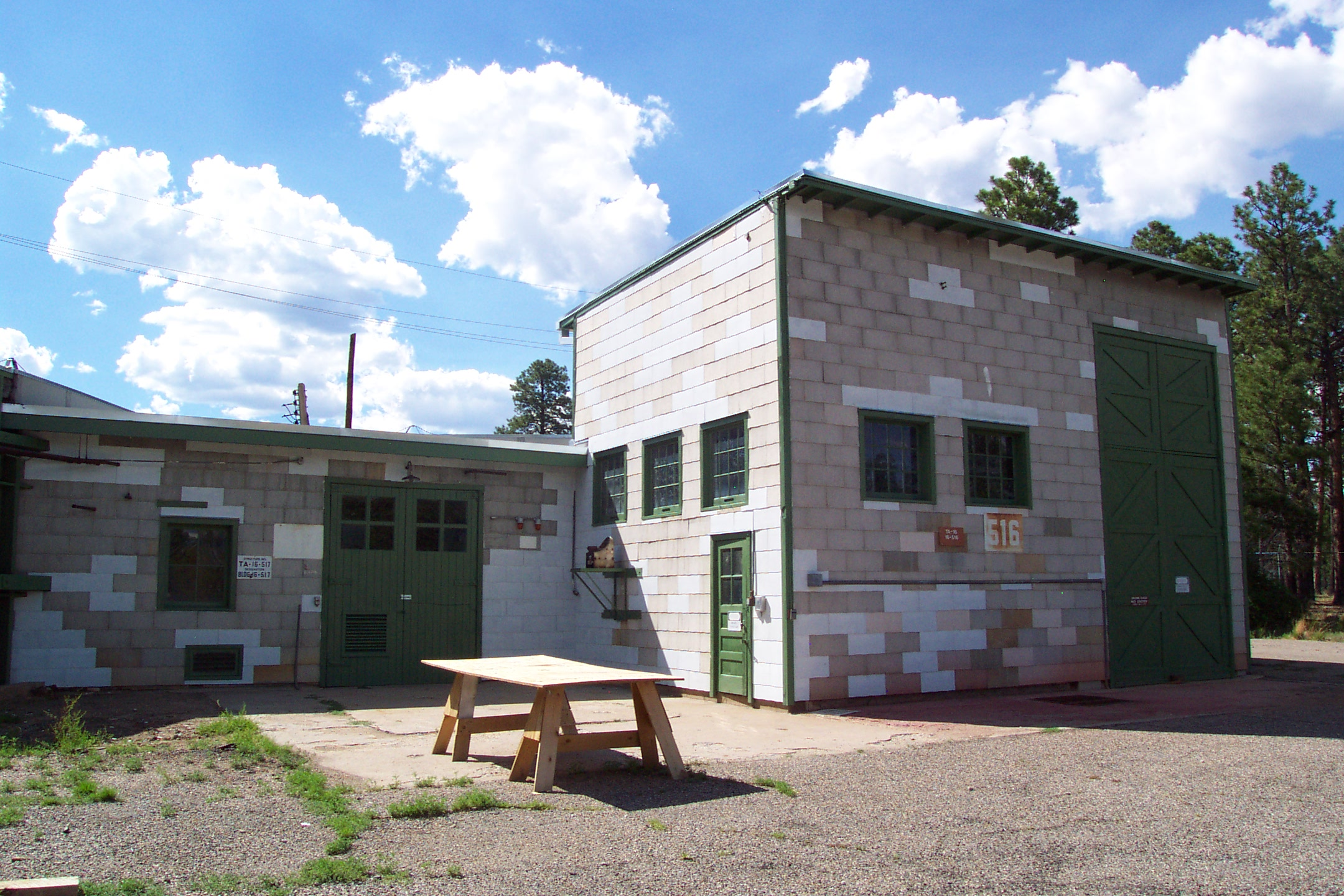 The V-Site restored at Los Alamos