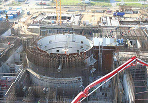 Russian bn-800 Reactor, under construction. Courtesy of IAEA.