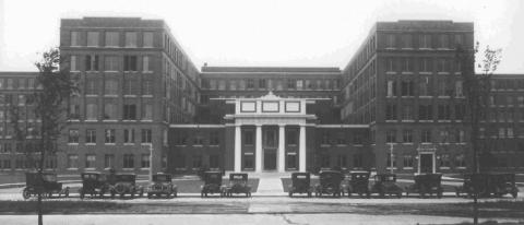 Strong Memorial Hospital in Rochester, home of the Manhattan Annex