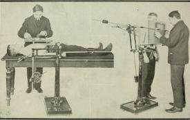 Applications of x-rays in medicine from 1910
