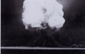 The Trinity test explosion