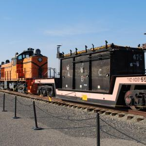 Cask cars at Hanford