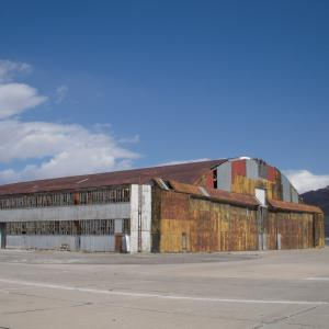 Enola Gay Hangar (rear)