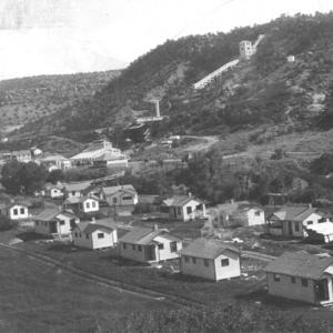 Housing for miners in Uravan