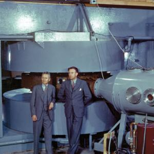 Ernest Lawrence and the Berkeley cyclotron