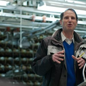 Senator Wyden at the B Reactor
