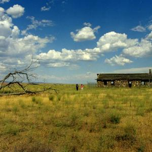 The Bruggemann Ranch house