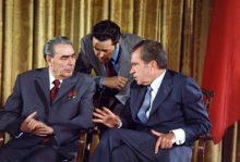 Nixon and Brezhnev