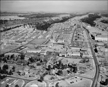 Town site at Los Alamos.