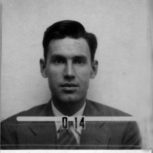 Robert Christy's Los Alamos ID badge photo