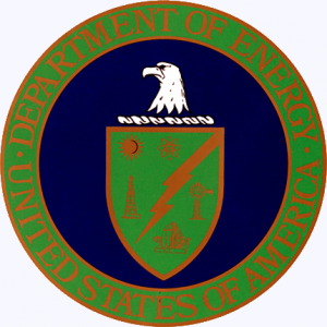The seal of the Department of Energy.