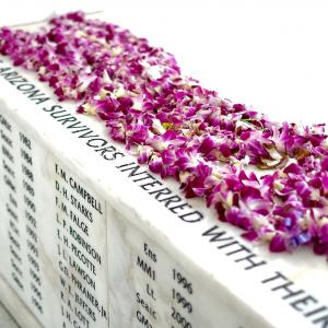 USS Arizona survivors who have chosen to be interred with their shipmates