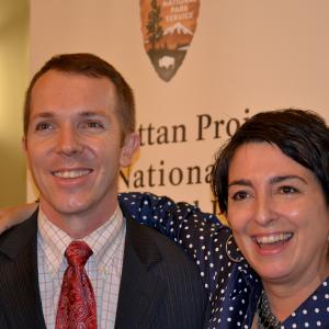 "DOE attorney Colin Colverson and Denise Kiernan, author of the bestselling ""The Girls of Atomic City"""