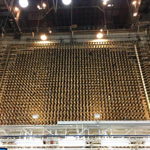 The front face of B Reactor.
