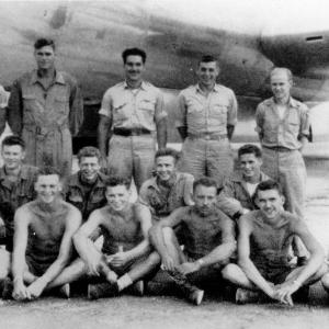 Jack Widowsky and his crew. Jack is second from right, top row.