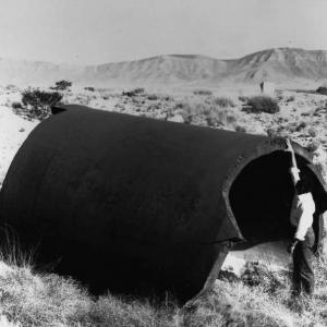 Jumbo remains at the Trinity site