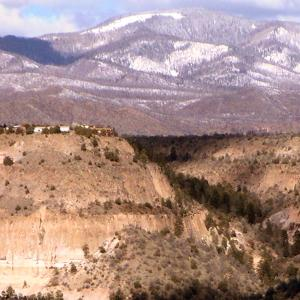 Los Alamos on the Pajarito Plateau
