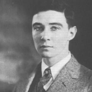 J. Robert Oppenheimer as a young man