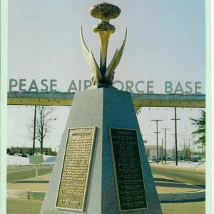 Pease Air Force Base Monument