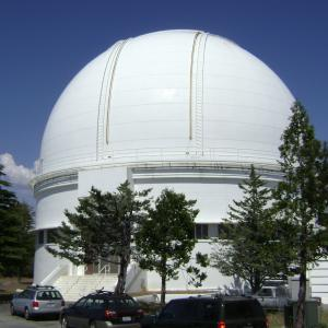 The dome of the C. Donald Shane telescope.
