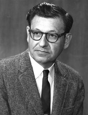 Albert Ghiorso (image courtesy of Lawrence Berkeley Laboratory)