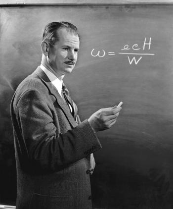 Edwin McMillan, 1958. Photo courtesy of LBNL.