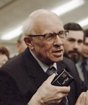 Andrei Sakharov. Photo Courtesy of Wikimedia Commons.
