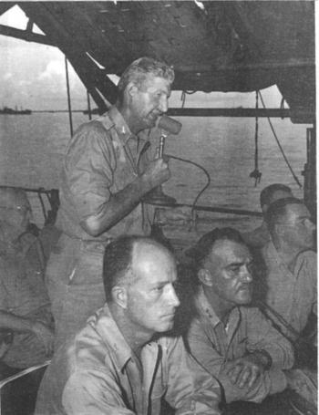 Stafford Warren during Operation Crossroads