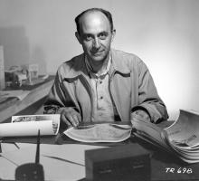 Enrico Fermi. Photo courtesy of LANL.