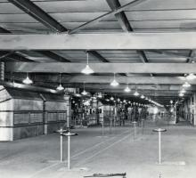 The operating floor of the K-25 Plant