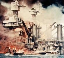 The Japanese attack on Pearl Harbor