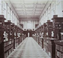 Wren Library, Trinity College, Cambridge University