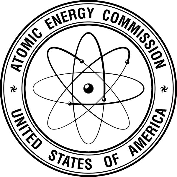 The logo of the Atomic Energy Commission