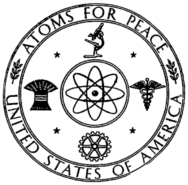 Atoms for Peace symbol, 1955