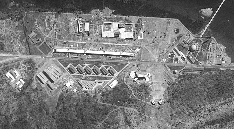 A U.S. satellite photograph of the Bhabha Atomic Research Centre, 1966