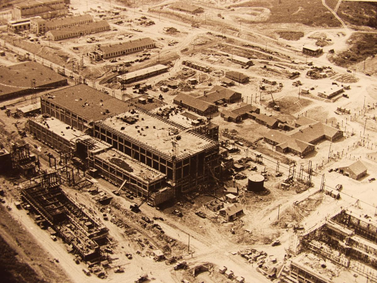The Y-12 Plant under construction