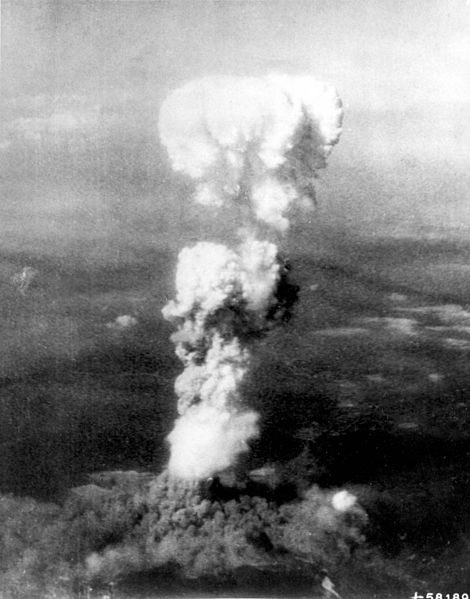 Explosion over Hiroshima
