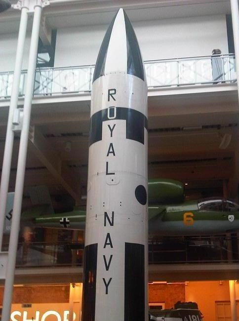 A British Polaris missile