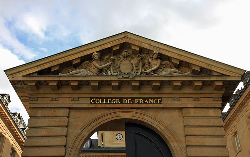 The Collège de France in Paris