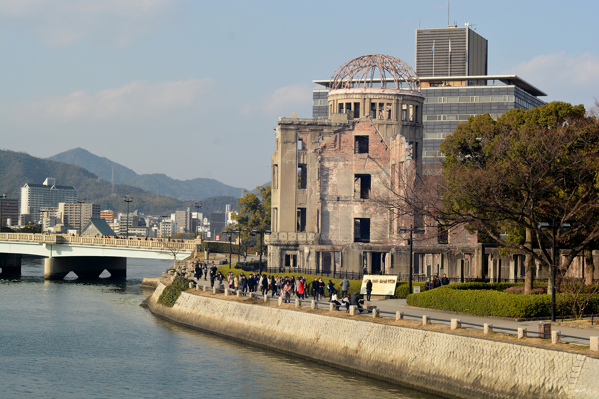 The Hiroshima Peace Memorial Dome