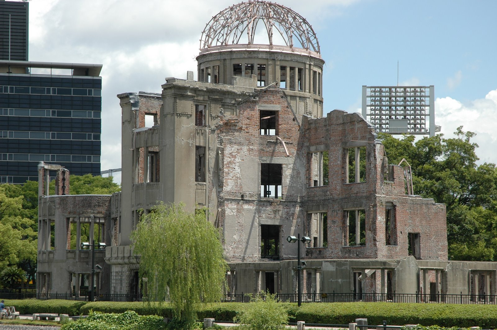 Image result for A-Bomb Dome and the Peace Cenotaph
