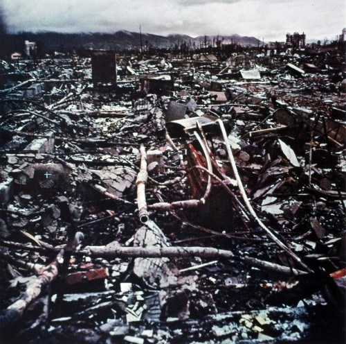 was the bombing of hiroshima and nagasaki Nagasaki, the heart of catholicism in japan, lies in ruins following the bombing of the city on aug 9, 1945 the remnants of the catholic cathedral can be seen near the hills on the left side of.